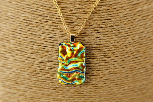 fused glass jewellery