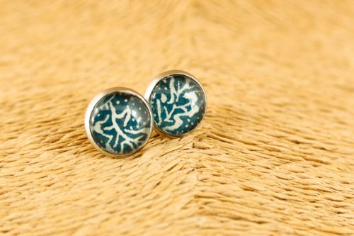small-blue-leaf-earrings