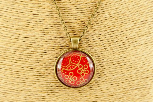 red-gold-flower-pendant