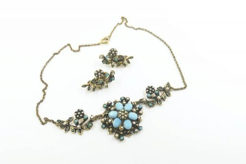 turquoise-pearl-jewelcraft-set