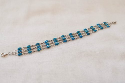 turquoise-chain-link-bracelet