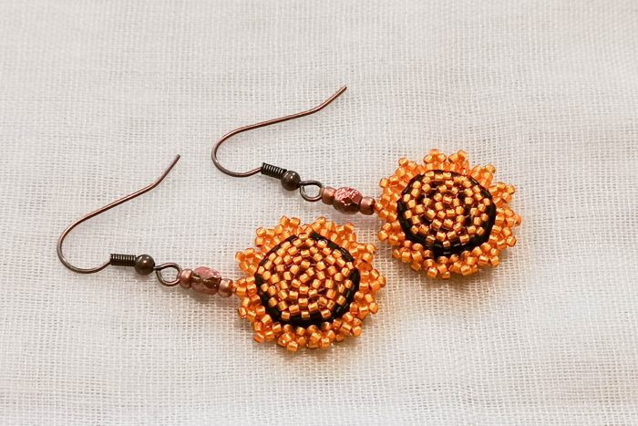 tangerine-earrings
