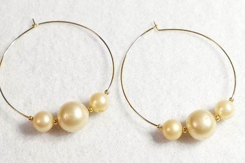 vintage-pearl-hoop-earrings