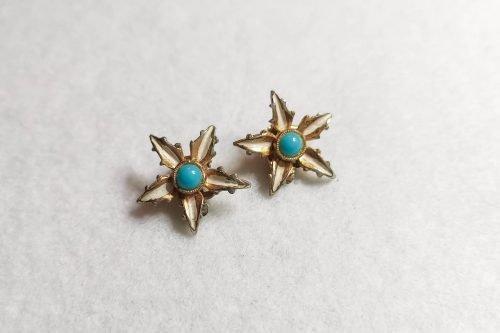 blue-star-flower-earrings
