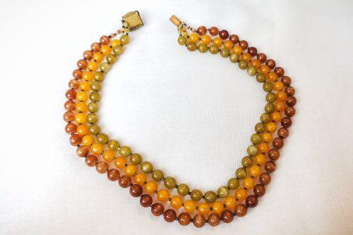 autumn colours necklace