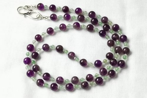 amethyst aventurine necklace