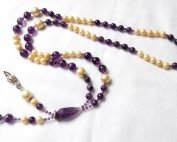amethyst pearl necklace