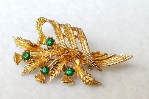 exquisite-thistle brooch