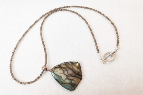 jasper pendant necklace