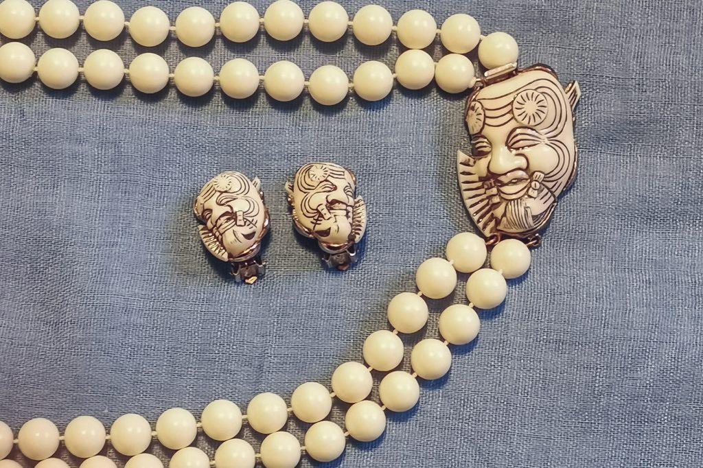 SELINI NOH mask jewellery
