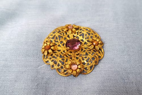 czech edwardian brooch