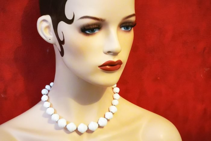 white cloud necklace