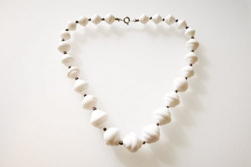 white cloud necklace