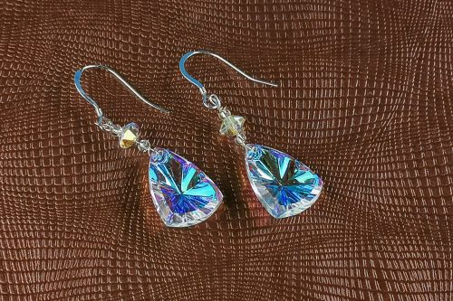bohemian crystal earrings
