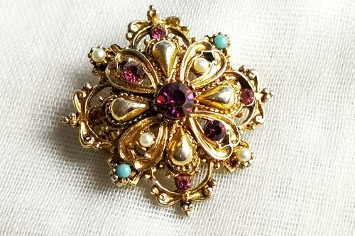 Georgian style brooch