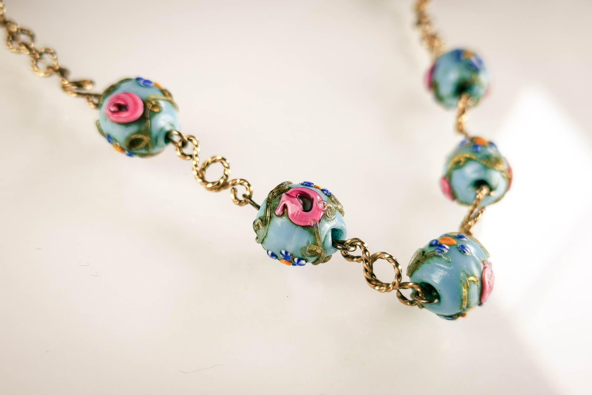 venetian wedding cake necklace