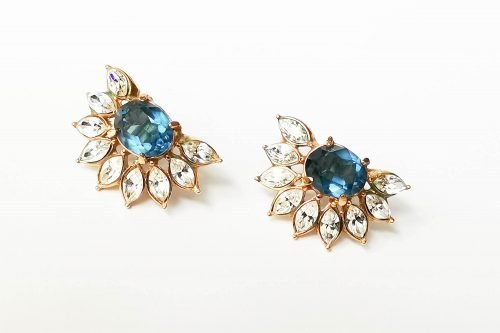 attwood and sawyer flower earrings